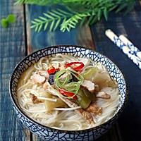 【十分钟美味早餐】榨菜肉丝米线#小妙招擂台#的做法图解9