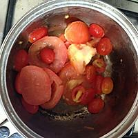 饱腹又美味的减肥汤-蕃茄豆腐汤的做法图解1