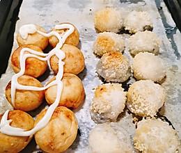 小零食-章鱼小丸子拼烤汤圆(烤箱版)的做法