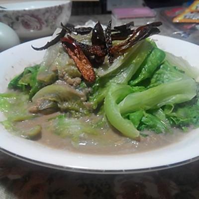 腐乳唐生菜