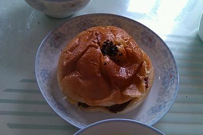 三明治汉堡(懒人早餐)