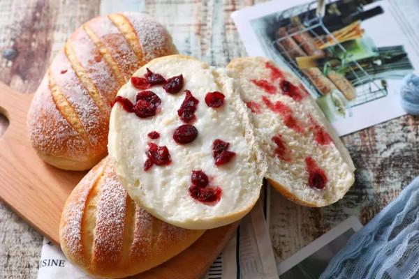 无油无糖低脂肪酸奶包的做法