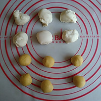 象形小米蕉馒头的做法图解6