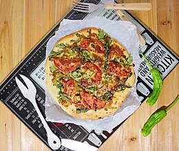 意式番茄金枪鱼披萨的做法
