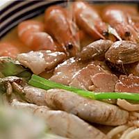 一口鲜浓的海鲜卤面, 一吃倾心!的做法图解12