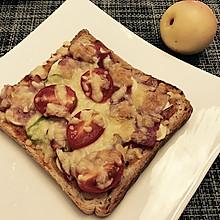 快手早餐之——面包披萨