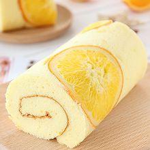 宝宝辅食 香橙蛋糕卷