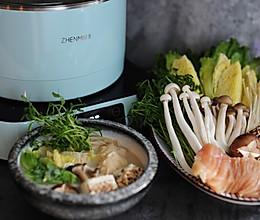 #秋天怎么吃# 温润清新的味增杂菌豆乳锅的做法