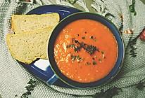 经典西式番茄汤【安卡西厨】的做法