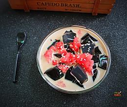 西瓜冰粉的做法