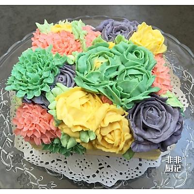 裱花蛋糕之奶酪霜的做法 步骤12