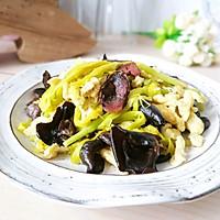 #花10分钟,做一道菜!#小炒黄花菜(附新鲜黄花菜处理方法)的做法图解10