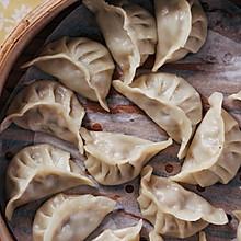 #换着花样吃早餐#鲜肉松茸蒸饺
