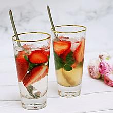 秀出你的早餐–草莓薄荷冰饮