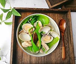 #精品菜谱挑战赛# 清热解毒又下火的沙白芥菜汤的做法