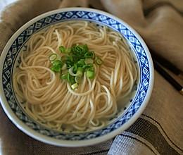 鸡骨高汤和鸡汤面的做法