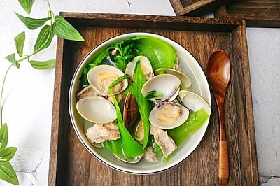 #精品菜谱挑战赛# 清热解毒又下火的沙白芥菜汤
