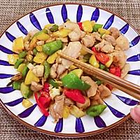 粵菜三色彩椒炒雞丁|媲美五星級酒店的廣東名菜的做法圖解19