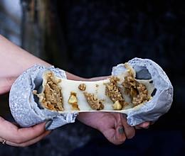 蝶豆花栗子麻薯软欧包的做法