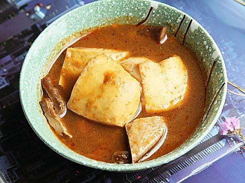 虾卤豆腐的做法