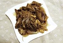 鸡肝炒洋葱的做法