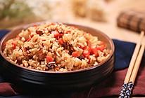 腊肉土豆焖饭的做法