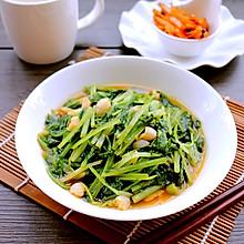 #夏日素食#虾油小白菜