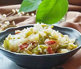 扁豆焖饭#苏泊尔电饭煲#的做法