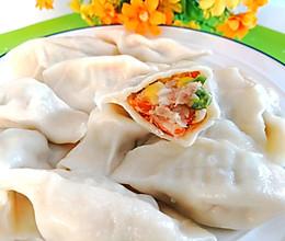 #夏日消暑,非它莫属#鲜掉眉毛的鲜虾猪肉水饺的做法