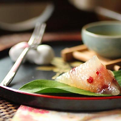 蔓越莓雪菊茶晶粽