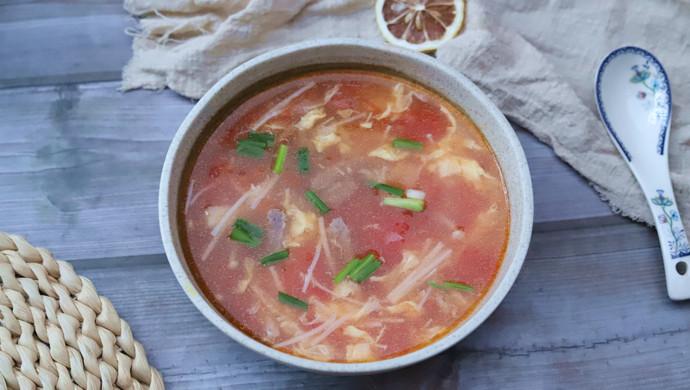 金针菇牛肉汤