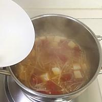 暖心暖胃【茄汁金针菇豆腐汤】的做法图解8