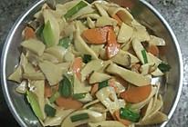 胡萝卜素炒杏鲍菇的做法