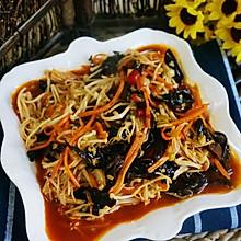 鱼香金针菇#舌尖上的春宴#