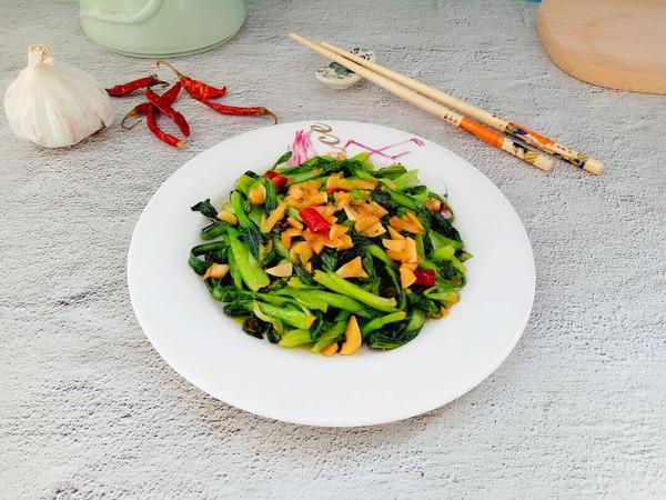 蒜蓉油菜的做法