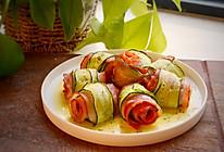 #夏天夜宵High起来!#烤箱培根黄瓜卷的做法