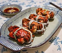 清蒸六月黄螃蟹的做法