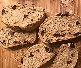 现磨黑胡椒无花果乡村面包的做法