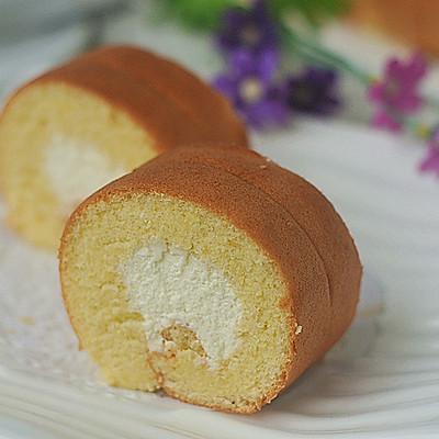 迷恋那抹甜蜜——奶油蛋糕卷