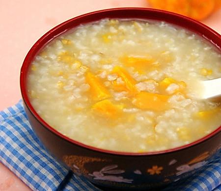 燕麦南瓜粥