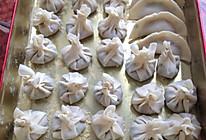 小葱饺子的做法