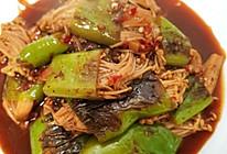 #中秋宴,名厨味#简单上手的虎皮尖椒金针菇的做法