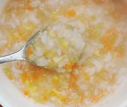 断奶辅食——瘦肉蔬菜粥的做法