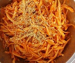 桔梗拌菜的做法