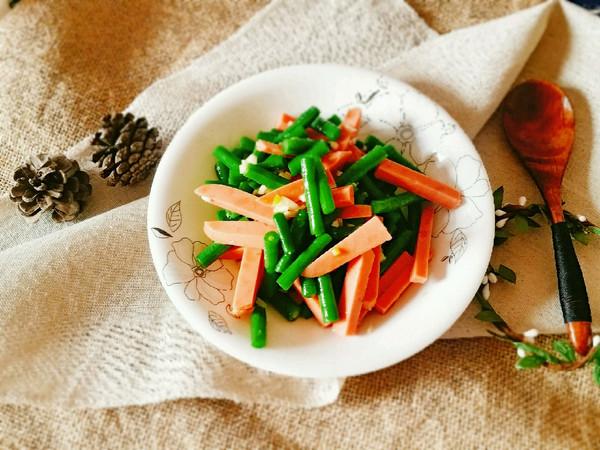 夏日清凉快手菜~凉拌豇豆的做法