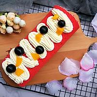 红丝绒大米蛋糕卷+#松下多面美味#的做法图解17