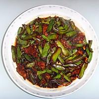 牛肉炒扁豆
