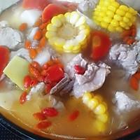 山药玉米排骨汤的做法图解8