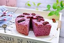 #新年开运菜,好事自然来#红枣紫薯发糕的做法
