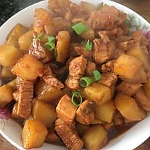 土豆炖鸡胸肉